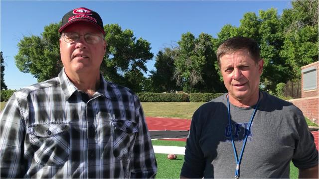 Great Falls High football coach Mark Samson discusses his team's 2-0 start and the Bison game against Missoula Sentinel, set for Friday, Sept. 7, at Memorial Stadium