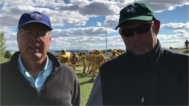CMR football coach Gary Lowry and Tribune columnist Scott Mansch discuss this week's Homecoming game against Helena Capital. Kickoff is Friday night at 7 at Memorial Stadium.