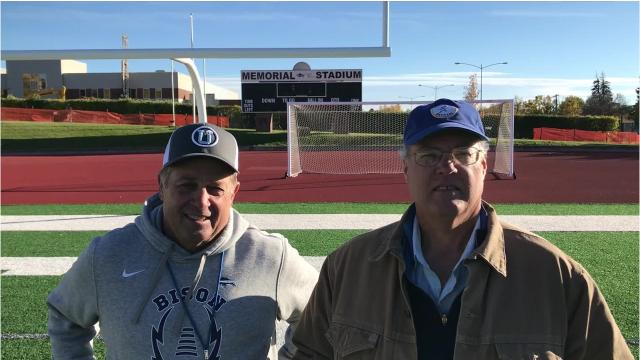 Bison coach Mark Samson and Tribune columnist Scott Mansch discuss Great Falls High's Homecoming game Friday night at Memorial Stadium.
