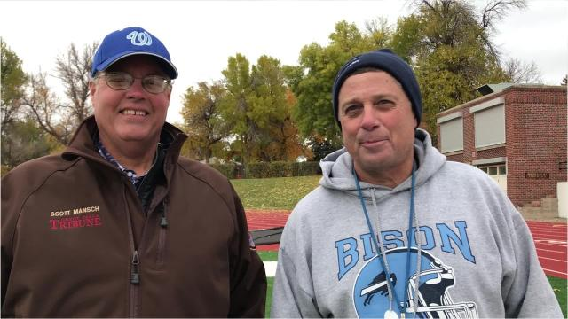 Bison coach Mark Samson and Tribune columnist Scott Mansch discuss GFH's loss last week to Kalispell Glacier and the team's upcoming trip to Butte High