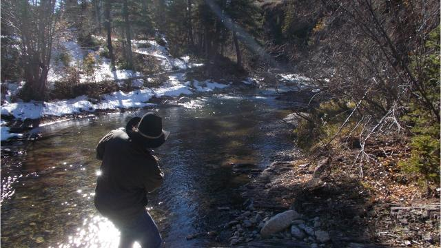 The Rocky Mountain Elk Foundation and Dan Barrett have signed a purchase option giving RMEF three years to purchase the important 442-acre Falls Creek property.