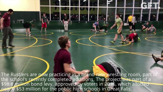 New practice facility lends optimism to improving CMR wrestling program