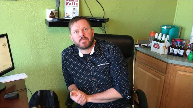 """Great Falls entrepreneur and author Ryan Acra, who along with his wife Becky has opened a new business called """"The Get It Factory,"""" discusses his motivation and goals."""