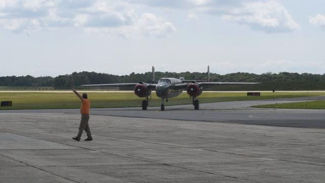 The Wings of Freedom Tour, which takes WWII era planes around the country, made its annual stop at the Millville Airport on Wednesday, August 30.