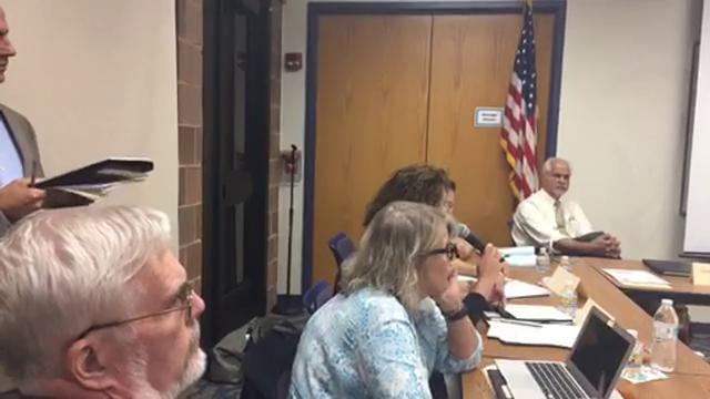Management company appears at Vineland Public Library board meeting to discuss parameters of potential operations takeover.