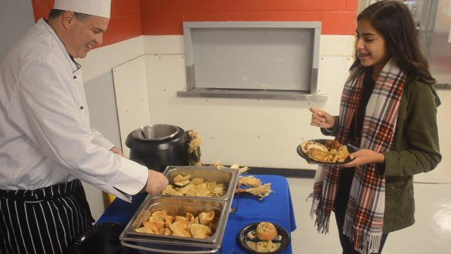 MOVIE: Vineland High students dish on new school menu