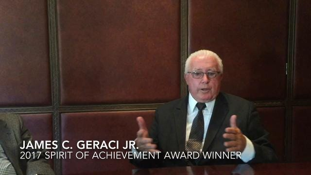 James C. Geraci Jr. is a recipient of the 2017 Spirit of Achievement Award, presented by the Italian Cultural Foundation of South Jersey.