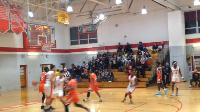 Millville boys basketball defeated Vineland 72-60 on Wednesday night