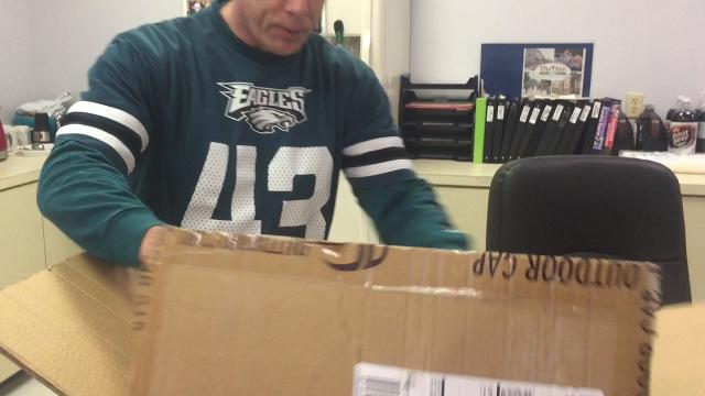 Philadelphia Eagles rally towels arrive for Vineland Downtown Improvement District Super Bowl Pep Rally set for noon to 1 p.m. Saturday at Boulevard and Landis Avenue Vineland.