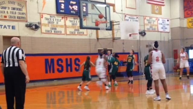 Millville girls basketball beat Clearview 48-30 in the first round of the South Jersey Group 4 playoffs on Tuesday.
