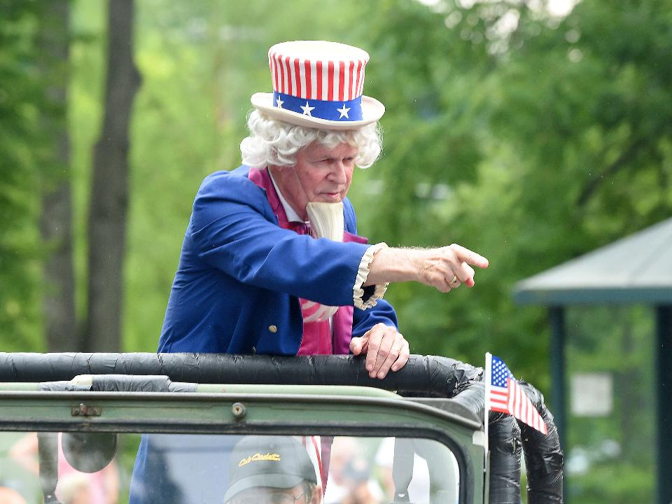 For 20 years, R.M. Stone has portrayed Uncle Sam at America's Birthday Celebration in Staunton, Virginia. This marked his final year playing the part as he chooses to retire from the role.