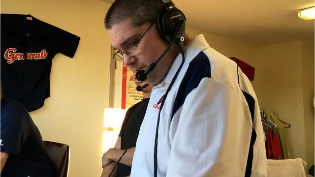 Kris Neil, the Voice of the Waynesboro Generals