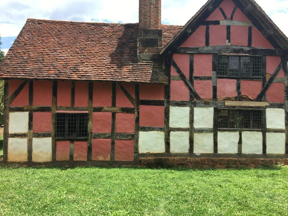 Get a behind the scenes look at how a 1600s English farmhouse at the Frontier Culture Museum is maintained through a process called wattle and daub.
