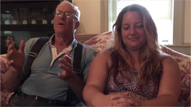 """Father and daughter Joel and Rachel Salatin from Polyface Farms team up to teach kids about grass farming and sustainability in """"Patrick's Great Grass Adventure."""""""