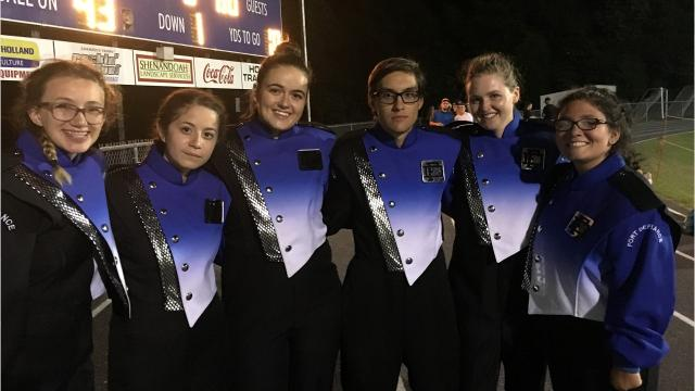 The Fort Defiance band debuted their 2017 halftime show Friday night at the Indians home football opener. Several members of the percussion section discussed their role, including having to learn new instruments.