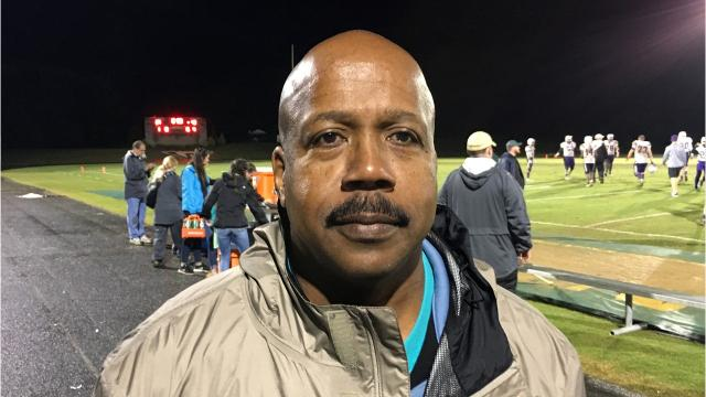 Eddie Harris, Sr., is a photographer for Wilson Memorial High School, but on Friday night, while shooting the Hornets football game, he had to watch his son go down with an injury.