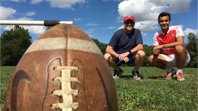 On this week's installment of Patrick Tries, Lee High kicker Marcos Sasia teaches News Leader sports reporter Patrick Hite how to kick an extra point. Then Patrick gives it a try.