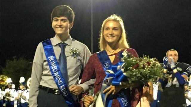 Lee High homecoming queen Sophie Kozlowski