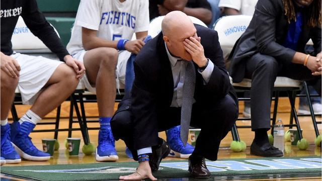 Lee hoop coach Jarrett Hatcher