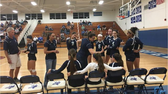 Luray knocked off Lee High in the Shenandoah District volleyball tournament semifinals Wednesday night, advancing to the finals to play Wilson Memorial. Lee is still alive, but has to hit the road Saturday for a match at George Mason.