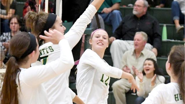 Wilson had to battle Thursday night, but the Hornets escaped with a five-set win over Luray and a Shenandoah District volleyball tournament championship. Now the Hornets get ready for regional play on Saturday night.