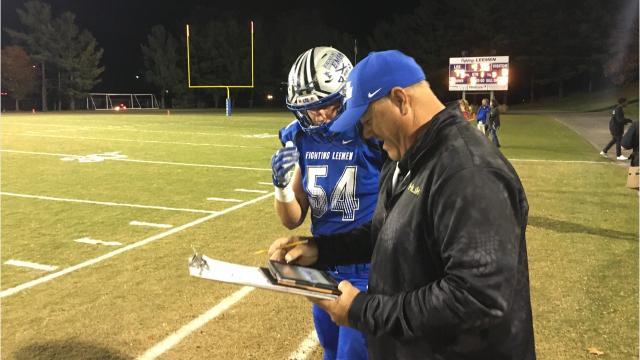 Lee High football is using the Hudl Sideline instant replay system this season. It allows coaches on the sideline to see plays on a tablet almost immediately after they occur, then provide feedback to the players on what is and isn't working.