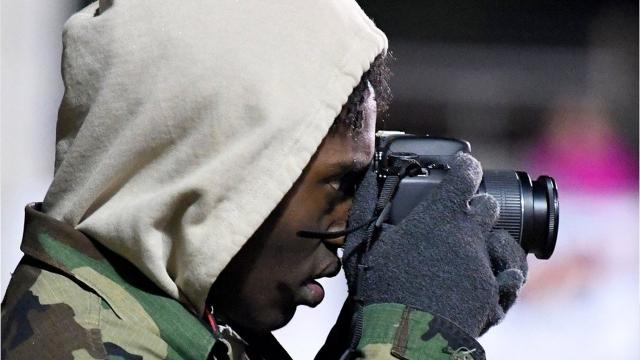 Lee High's Jahleel Pettiford is a key member of the boys basketball team, but before he gets on the Paul Hatcher Gym court this winter, he's on the football sidelines this fall with a camera in his hands. The senior has found a passion for photography and gets to work on his skills every Friday night.