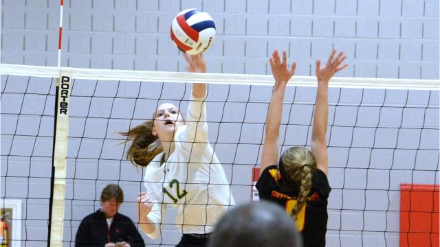 Wilson Memorial rolled to a four-set win at Goochland Tuesday night, stopping the Bulldogs on their home court and advancing to the 2A state championship match Saturday at VCU against Radford.