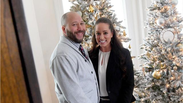 Tony and Amy Davenport pride themselves on giving back to the city of Staunton and beyond. Video by Laura Peters. Photos by Mike Tripp.