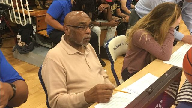 Ernest Holley has been the scorekeeper for Robert E. Lee boys basketball for four decades. It's just one more chance for Holley to give back to the Staunton community.