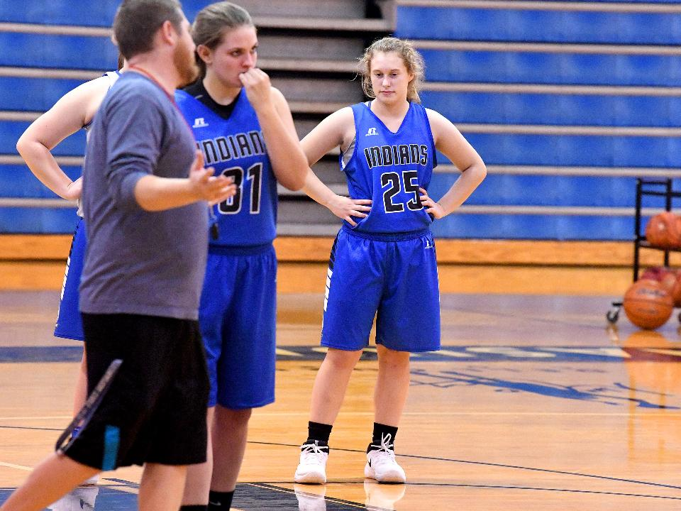 Fort Defiance basketball's Meredith Lloyd walks around the court with sport reporter Patrick Hite, talks about not just the game but how many grapes fit in her mouth and the story behind her nickname.