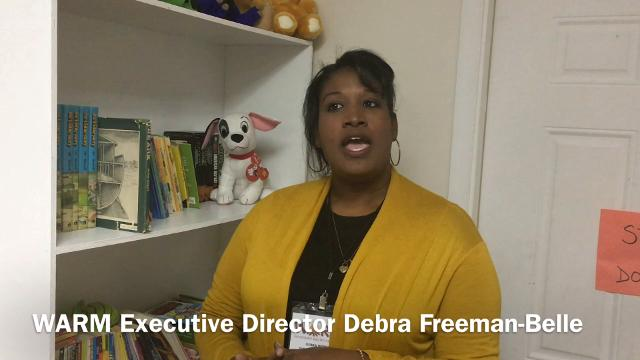 Debra Freeman-Belle is the executive director of the Waynesboro Area Refuge Ministry Inc., also known as WARM.