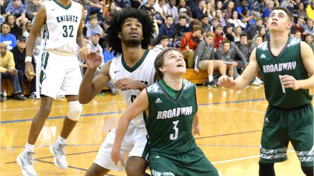 At the Rock the Ribbon Roundball Shootout this past weekend in Lexington, VA, Greenfield School senior Coby White, who will play at the University of North Carolina next season, broke the tournament scoring record with 41 points on Saturday. He also passed the all-time high school scoring record in the state of North Carolina on Saturday against Northside.