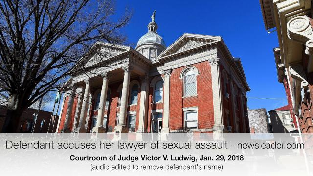"A welfare fraud defendant short-circuited a plea deal by telling Judge Victor V. Ludwig that her lawyer, Franklin ""Frankie"" Coyner of Stuarts Draft, sexually assaulted her on two occasions. She made the charge Jan. 29."