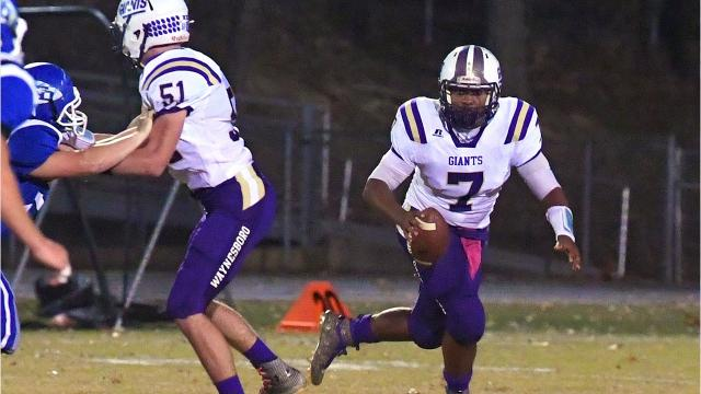 Waynesboro quarterback DaJuan Moore will be a preferred walk-on with the University of Virginia next year.