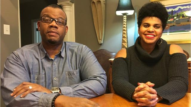 George Braxton and Kelly Harris-Braxton talk about the Confederate statues on Monument Avenue.