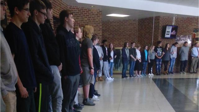 Robert E. Lee High School silent protest organizer reflects on National School Walkout Day.