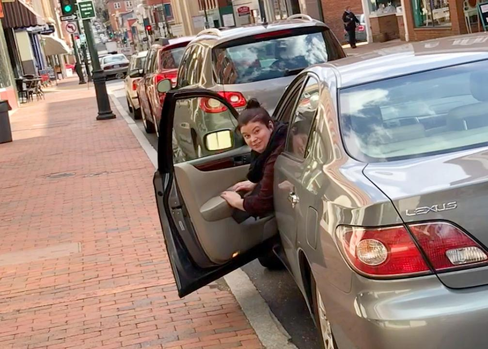 Take a ride with reporter Laura Peters as she heads out to attempt parallel parking the company car in downtown Staunton, Va.