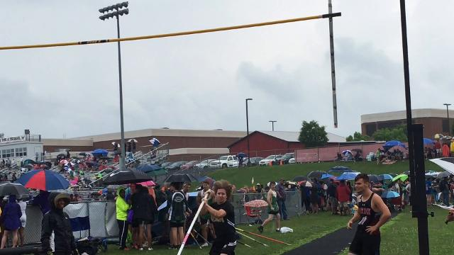 A look at some of the highlights from the meet Saturday at East Rockingham H.S.