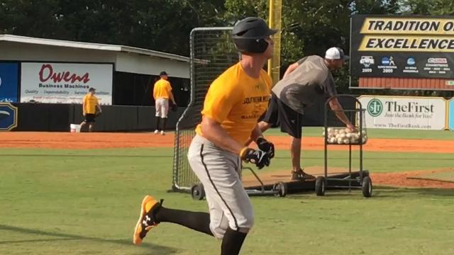 Southern Miss baseball team began fall practice Monday