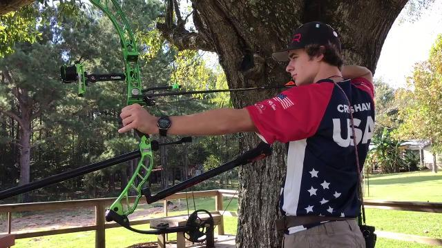 Video | Gabe Crenshaw discusses represented United States at World Archery 3D Championships