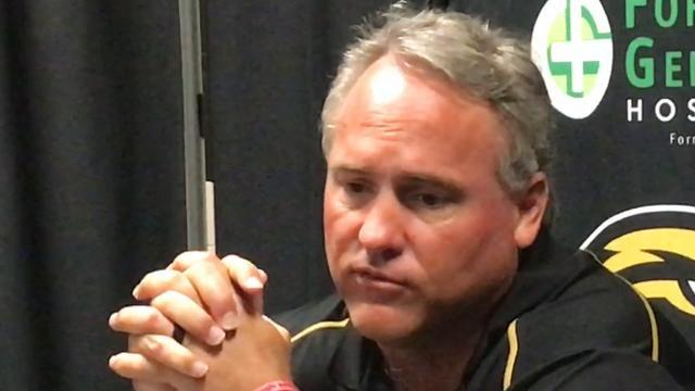 Video | Southern Miss' Jay Hopson reacts to win over UTEP