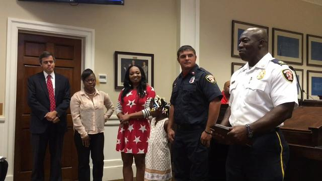 Ricky Sheppard named Hattiesburg Firefighter of the Year