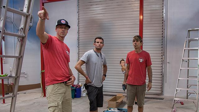 """American Ninja Warrior athletes build a new gym, called """"The Grip"""" in St. George with a focus on Ninja Warrior obstacles and helping all skill levels."""