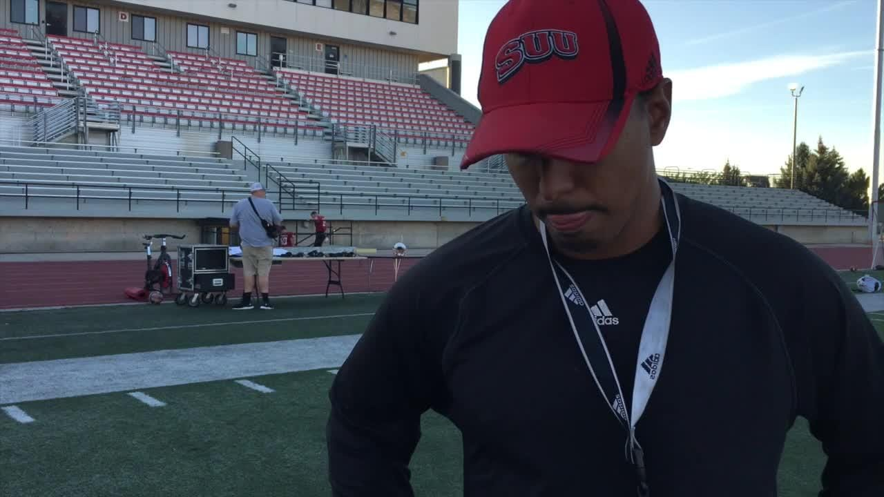 Demario Warren talks Sacramento State, Isaiah Diego-Williams and the challenge of players going back home to play games.