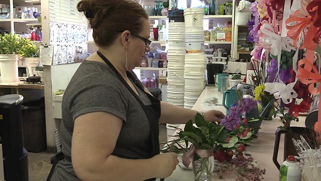 Florist in St. George discuss floral design on National Floral Design Day Wednesday, Feb. 28, 2018.