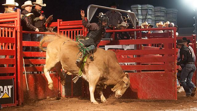 Highlights From Professional Bull Riders at Tuacahn