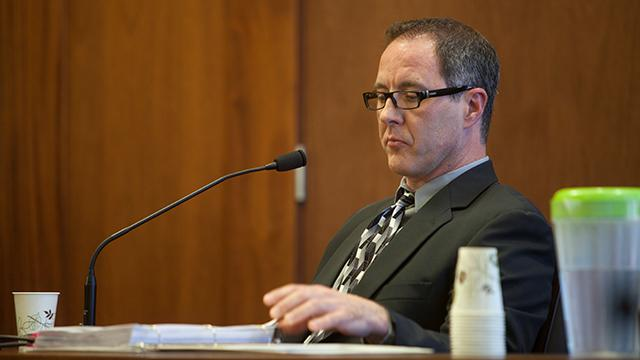 A local psychologist testifies during preliminary for the student accused of bringing an incendiary device to Pine View High School Wednesday, June 20, 2018.