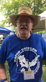 Facebook live tour of Uncle Dave Macon Days festival