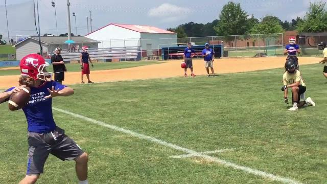 WATCH: Highlights as Montgomery Central hosts its own 7-on-7